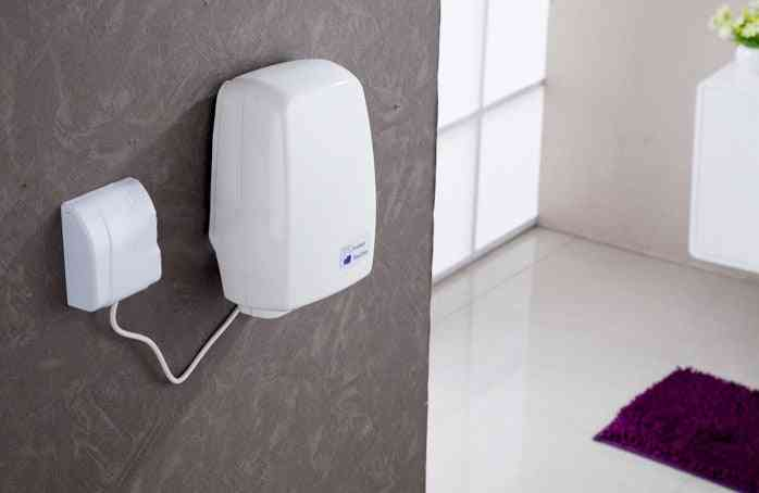 Electric Sensor Jet Hand Dryer, Automatic Hands Dryers Induction, Drying Device, Bathroom, Hot Air Wind Blower