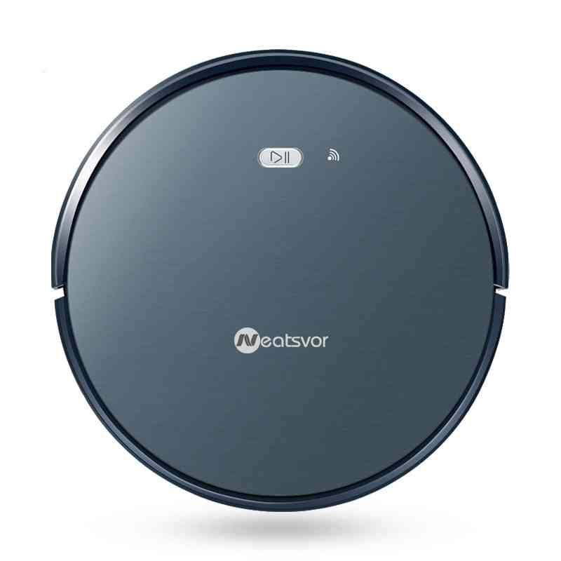 Robot Vacuum Cleaner Powerful Suction Pet Hair Home Dry Wet Mopping Cleaning Vacuum