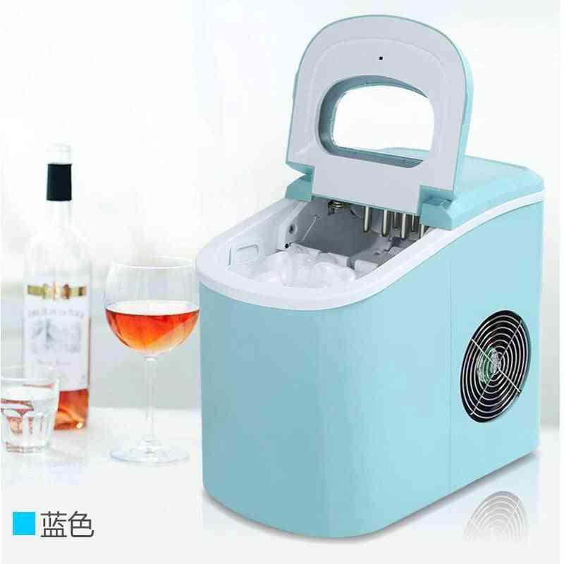 Portable, Automatic, Electric Ice Maker Household, Mini Square Shape, Ice Making Machine