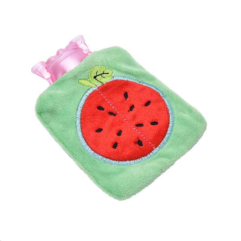 Winter Warm Heat Reusable Warmer Cute Pvc Stress Pain Relief Therapy Hot Water Bottle Bag