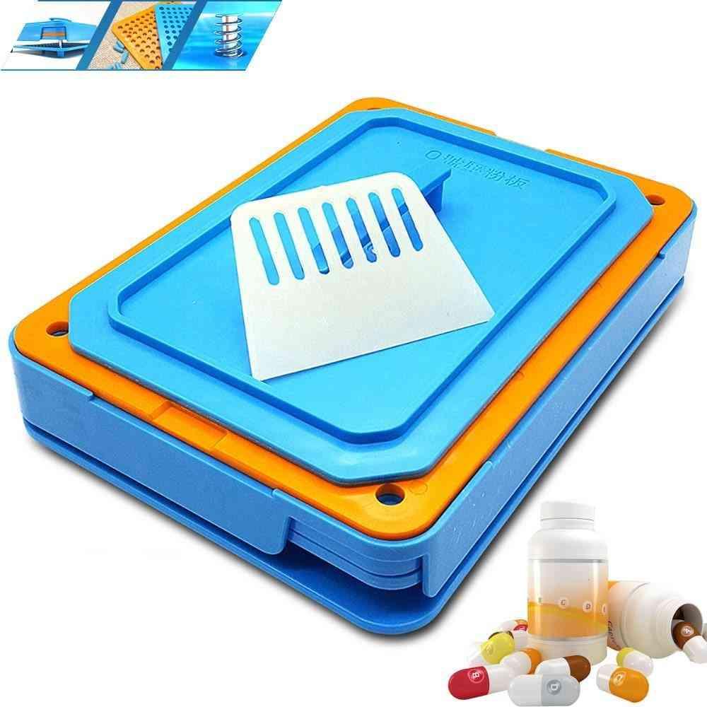 Abs Filling Plate, Manual Medicine, Capsule Herb Machine