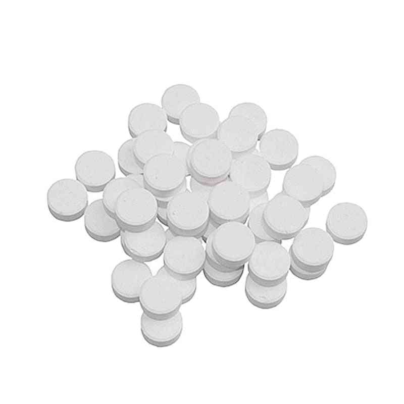 Coffee Cleaning Effervescent Tablets Universal Descaling Solution For All Types Coffee (white)