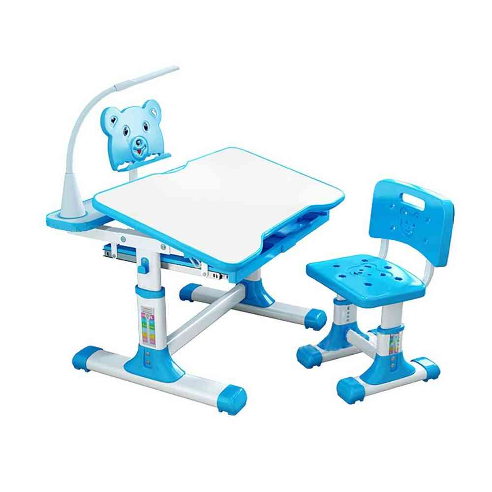 Table And Chair Combination Adjustable Desk