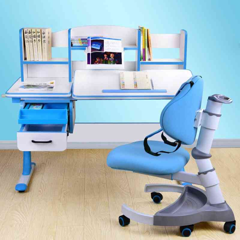 Kids Study Writing Desk And Chair Suit