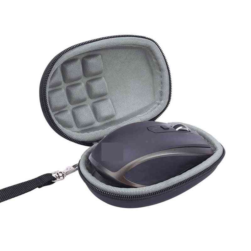 Portable Wireless- Storage Case, Hard Travel Shockproof, Mouse Cover