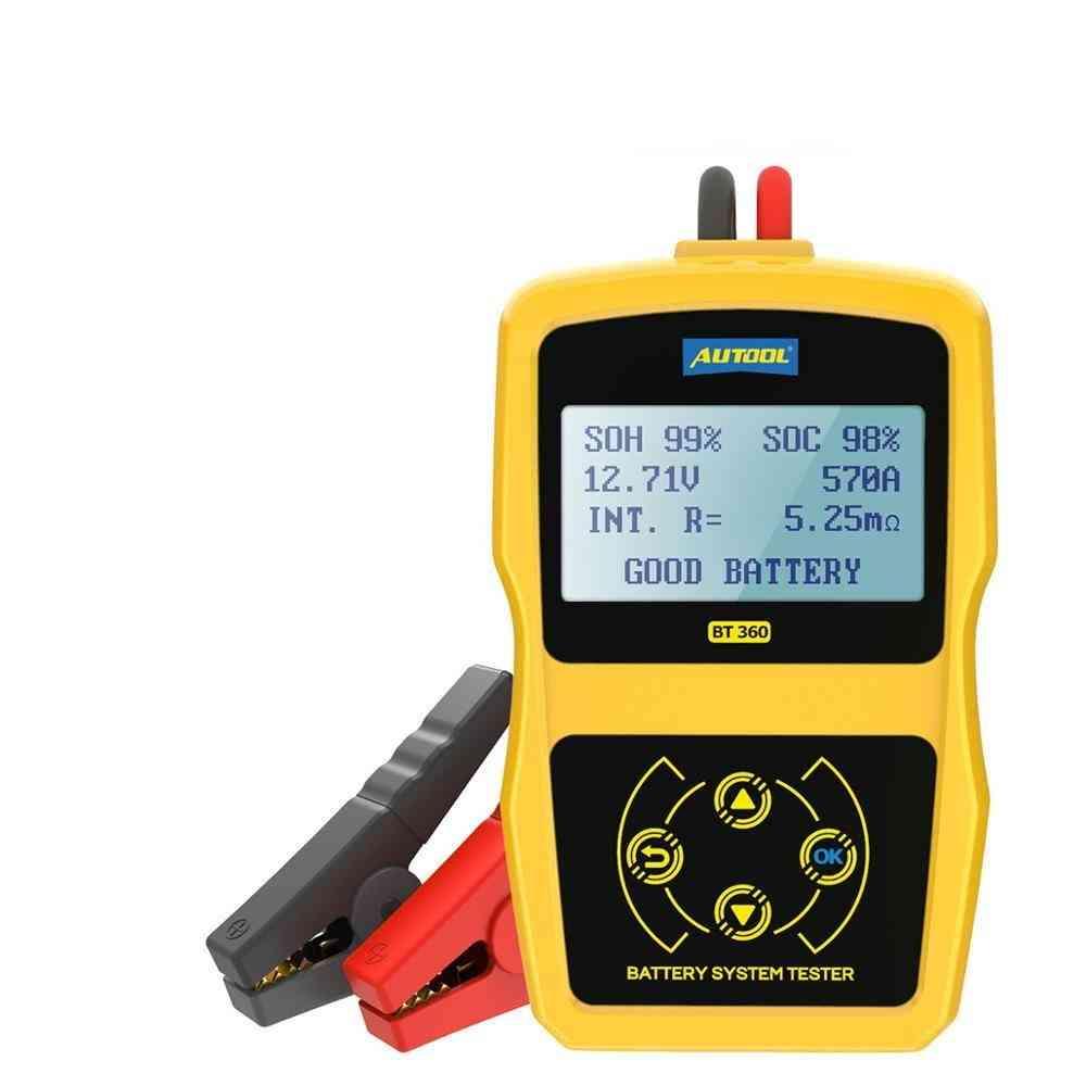 Automotive Tester- Car Battery Diagnostic, Vehicle Analyzer