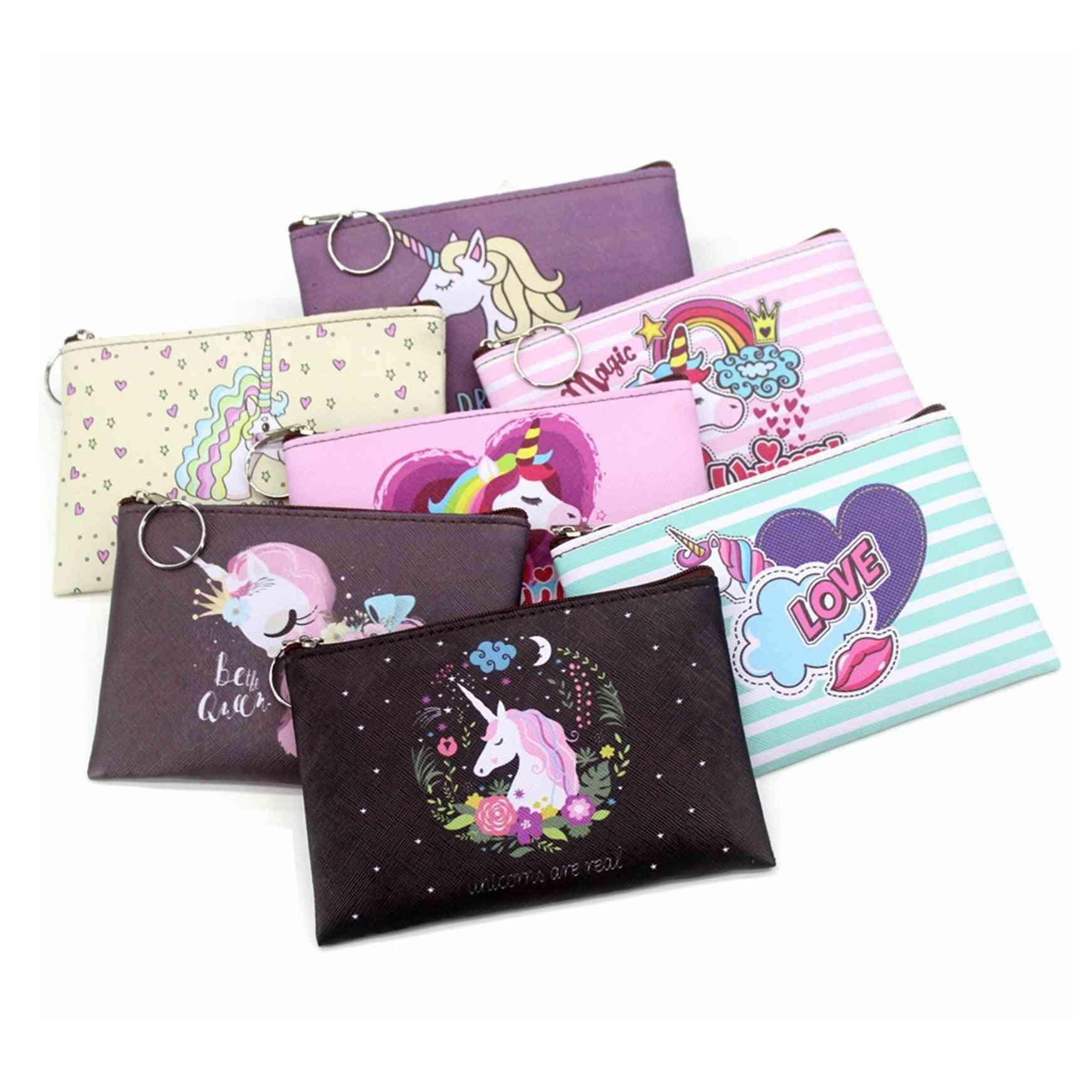 Mini Wallets Cute Card Holder, Women Key Money Bags / Purse