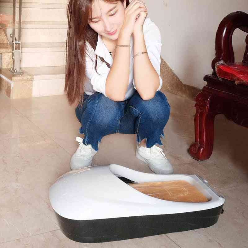 Automatic Shoe Cover Machine Membrane Dispenser With Film Shoe Sole Cover