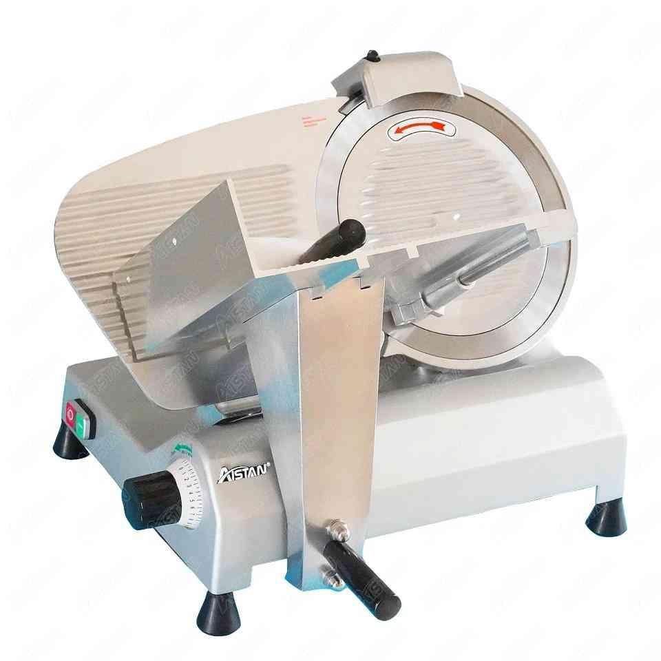 Sähköinen puoliautomaattinen kaupallinen lihanleikkuri / lihaleikkuri