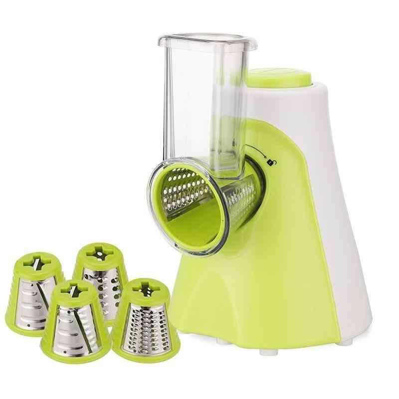 Multifunctional Electric Salad Fruit Vegetable Slicer Cutter Carrot Potato Chopper Machine