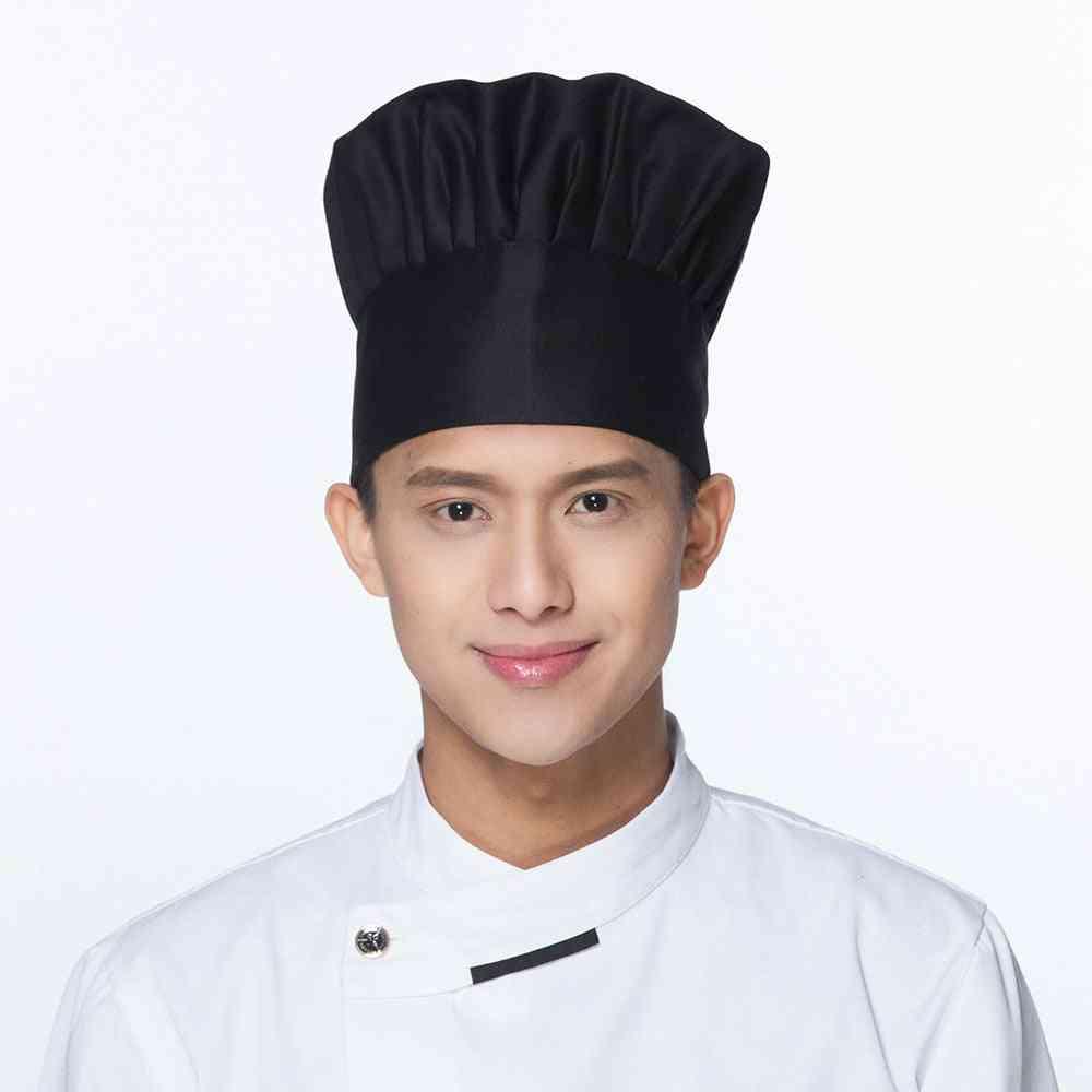 Kitchen Baker Elastic Hat For Men