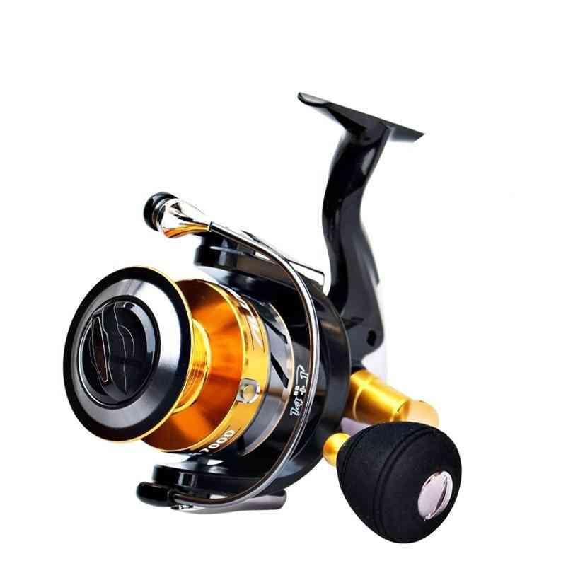 Double Metal Spools Spinning Fishing Reel