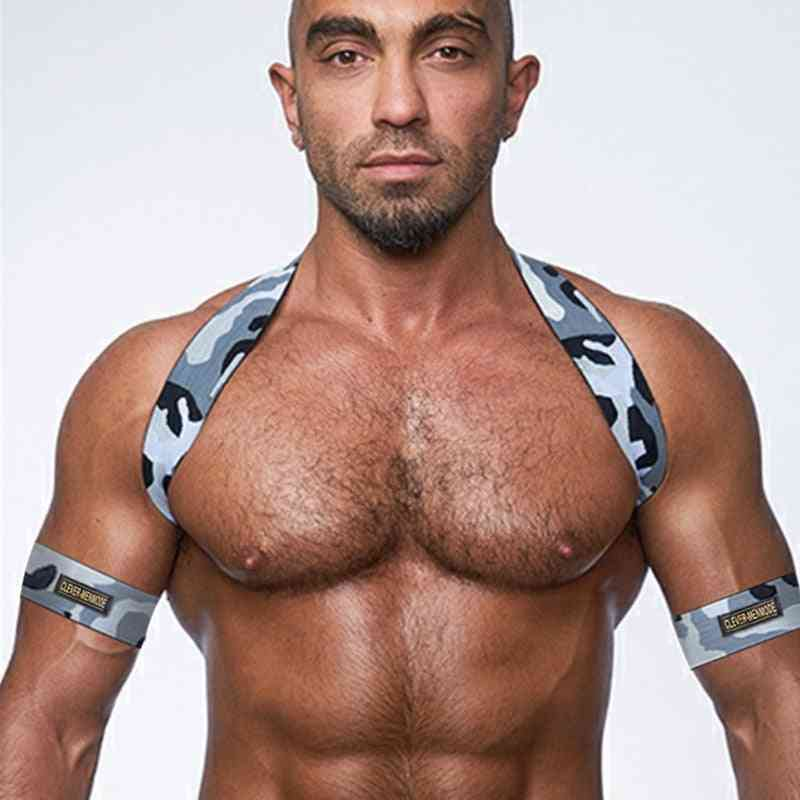 Shoulder Chest Harness, Body Elastic Strap's