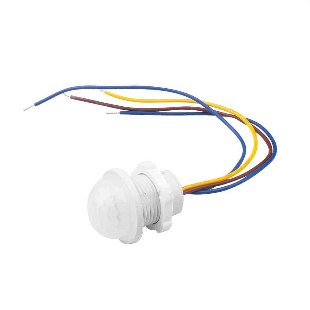 Auto On Off Light Switch Pir Sensor Detector