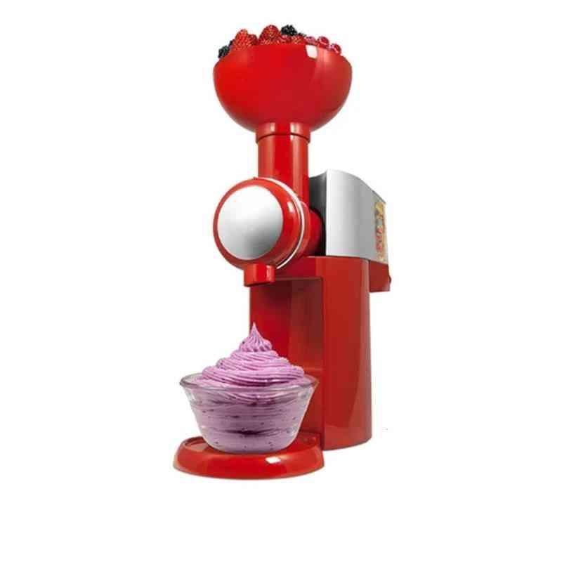 Automatic Frozen Fruit Dessert Machine Fruit Ice Cream Maker Milkshake Machine