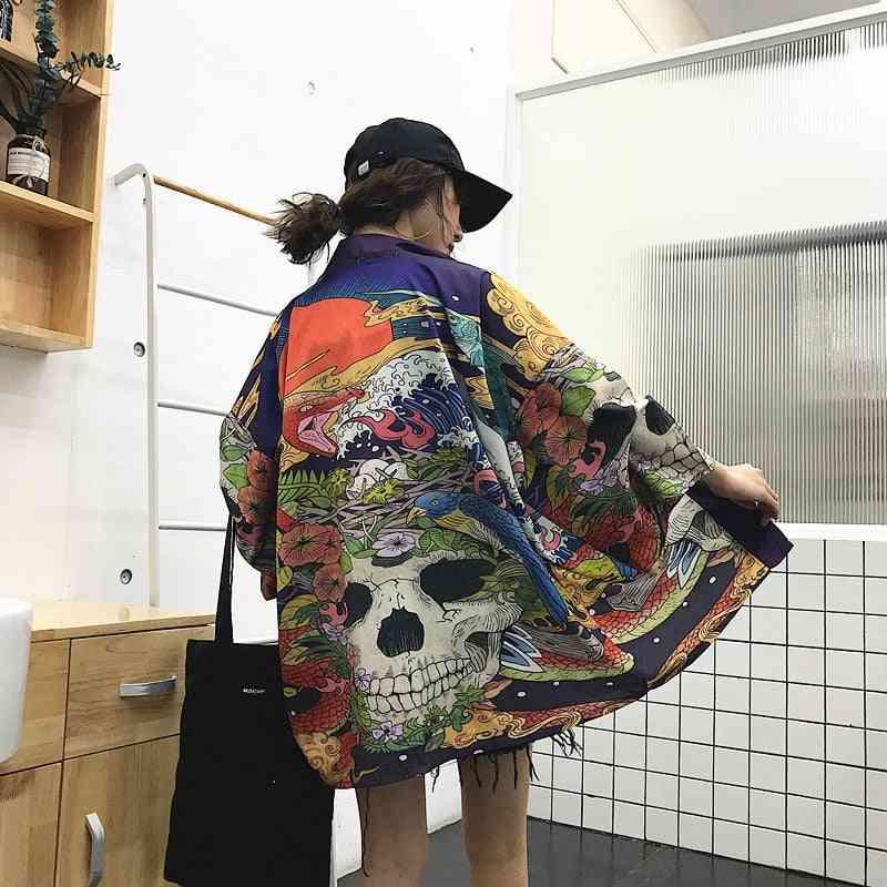Women Summer Japanese Kimono Yukata