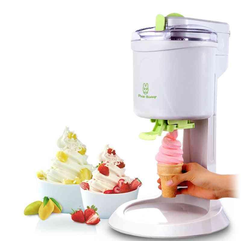 Fully Automatic Ice Cream Machine, Household Fruit Yogurt Sweet Electric Tube