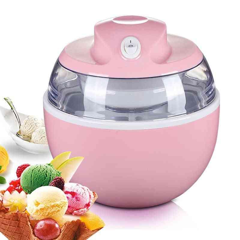 Automatic Ice Cream Machine Household Fast Yogurt Ice Making Machine
