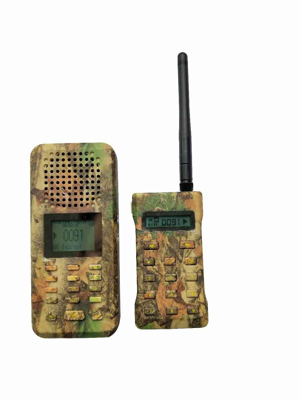 Bird Caller, Predator Sound Mp3 With Remote Control For Outdoor Hunting