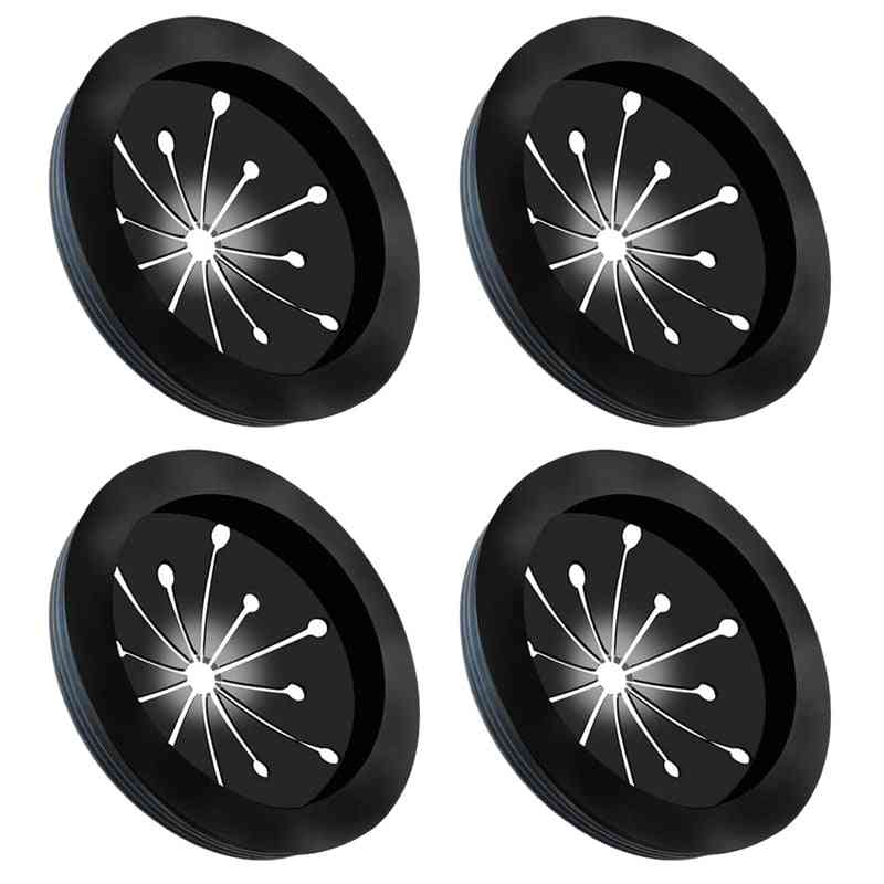Multi-function Drain Plugs Splash Guards For Whirlaway, Waste King Sinkmaster (black)