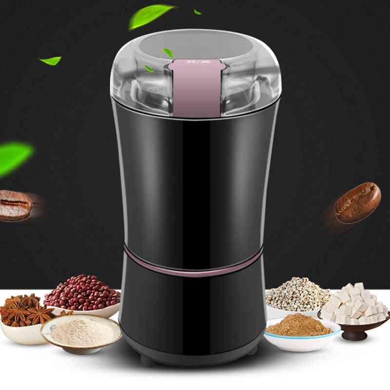 Kitchen Electric Coffee Grinder, Mini Salt Pepper, Powerful, Spice, Nuts, Seeds, Bean Grind Machine, Electronic