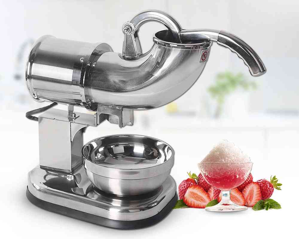Stainless Steel Ice Crushers, Shavers, Electric Smoothies Maker Blender Machine