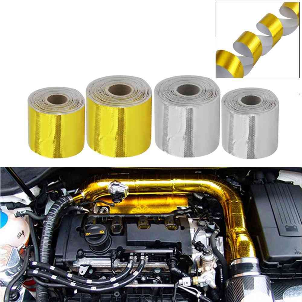 Thermal Exhaust Air Intake Heat Insulation Shield Wrap Tape