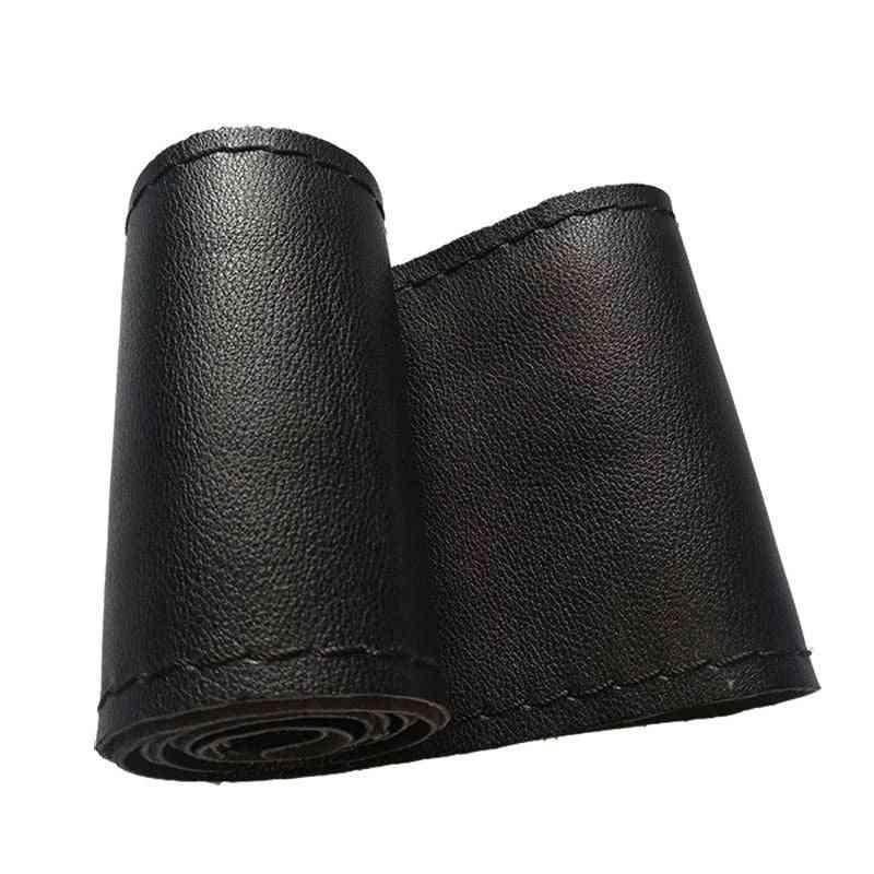 Fiber High-quality Universal Diy Braid Needles Thread Car Steering Wheel Cover