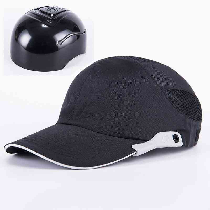 Safety Bump Cap With Reflective Stripes/lightweight And Breathable Hard Hat Head Protection Cap