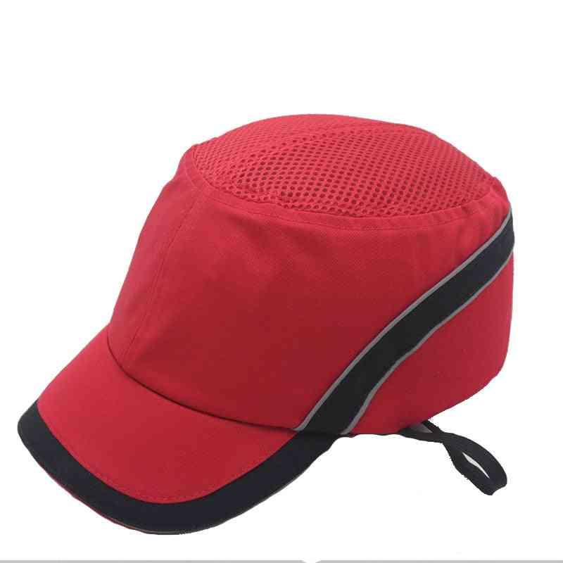 Work Safety Bump Cap Hard Inner Shell Protective Helmet & Baseball Hat Style