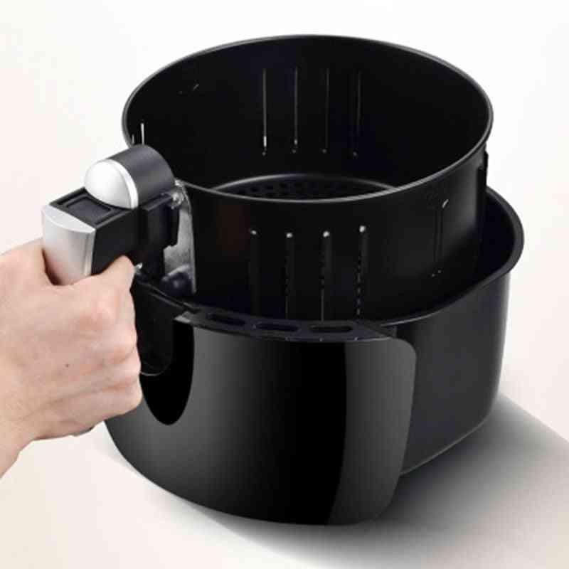 Air Fryer Home Intelligent Oil Free Large Capacity Multifunction Electric Fryer (black)