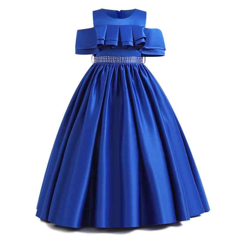Pageant Party Lace, Petal Long Banquet, Gown Dresses For Set-2