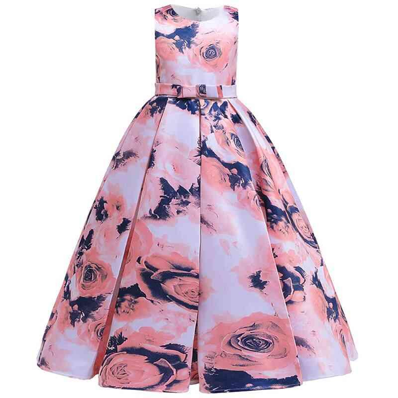 Pageant Party Lace Petal, Long Banquet Gown Dress For Set-4
