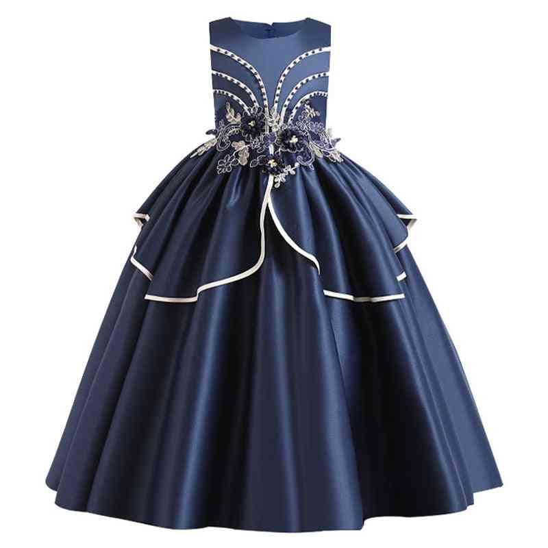 Pageant Party Lace Petal, Long Banquet Gown Dress For Set-6