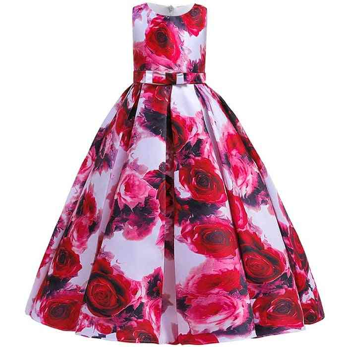 Pageant Party Lace Petal, Long Banquet Gown Dress For Set-9