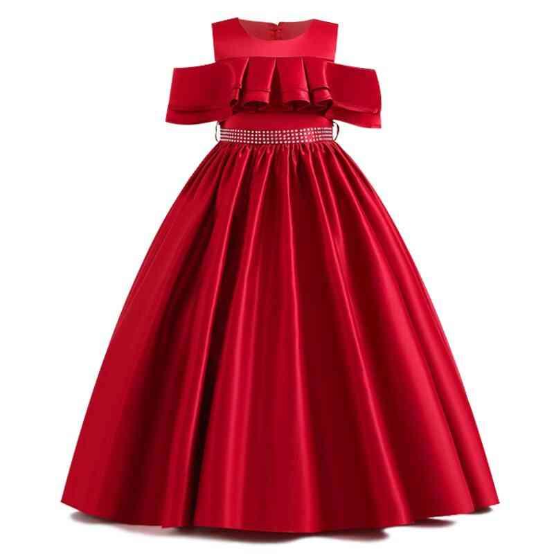 Pageant Lace Petal, Long Banquet, Gown Dresses For Wedding Party Set-10