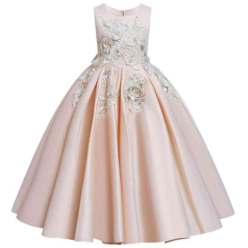 Pageant Lace Petal, Long Banquet, Gown Dresses For Wedding Party Set-11