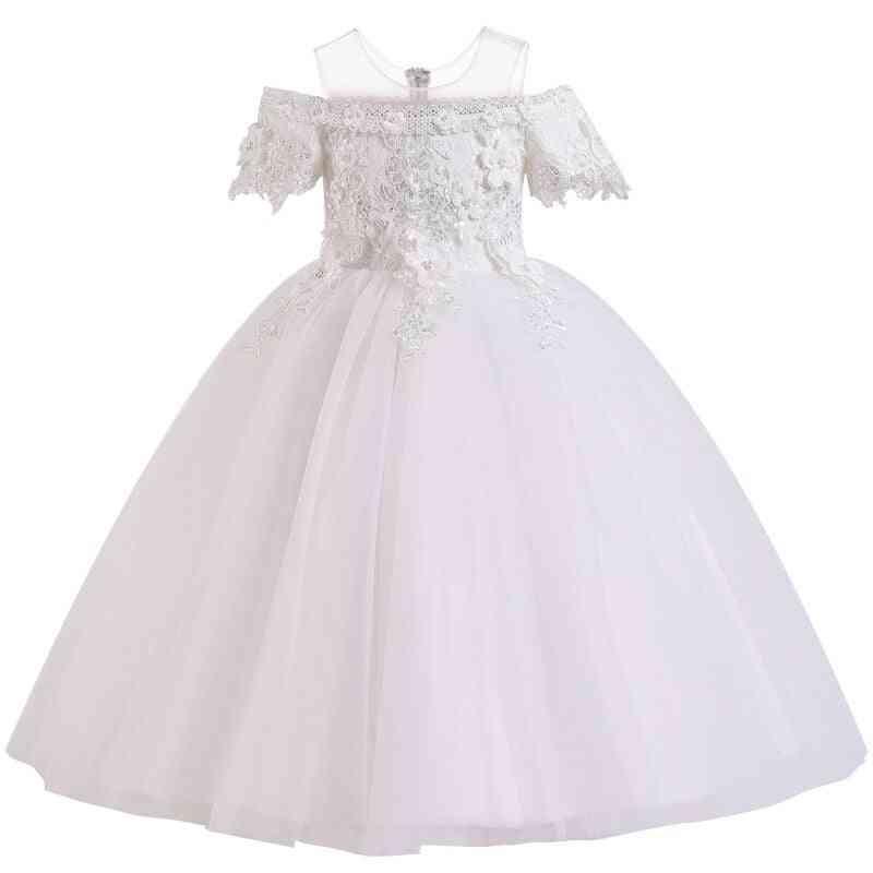Pageant Lace Petal, Long Banquet, Gown Dresses For Wedding Party Set-12
