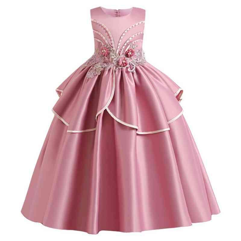 Pageant Lace Petal, Long Banquet, Gown Dresses For Wedding Party Set-13