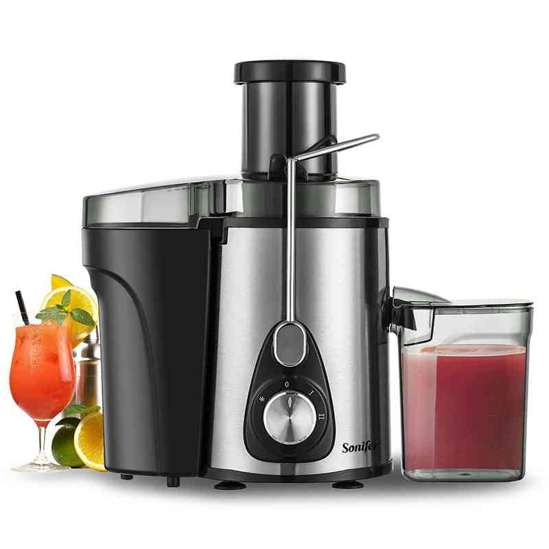 220v Stainless Steel Juicers 2 Speed Electric Juice Extractor Fruit Drinking Machine