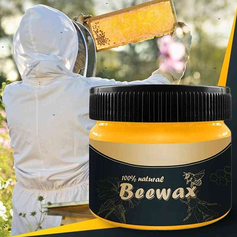Wax Polisher Waterproof Furniture Care Maintenance Beeswax For Household Home Cleaning