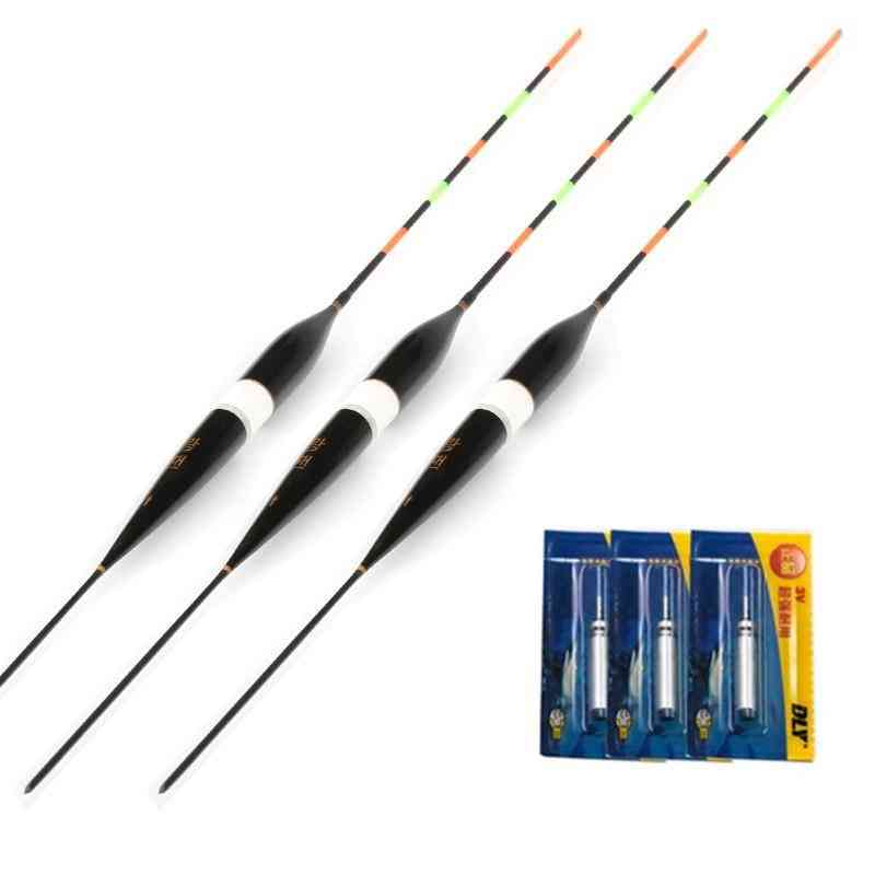 Fishing Float Led Electric Light + Battery Gear With Electrons