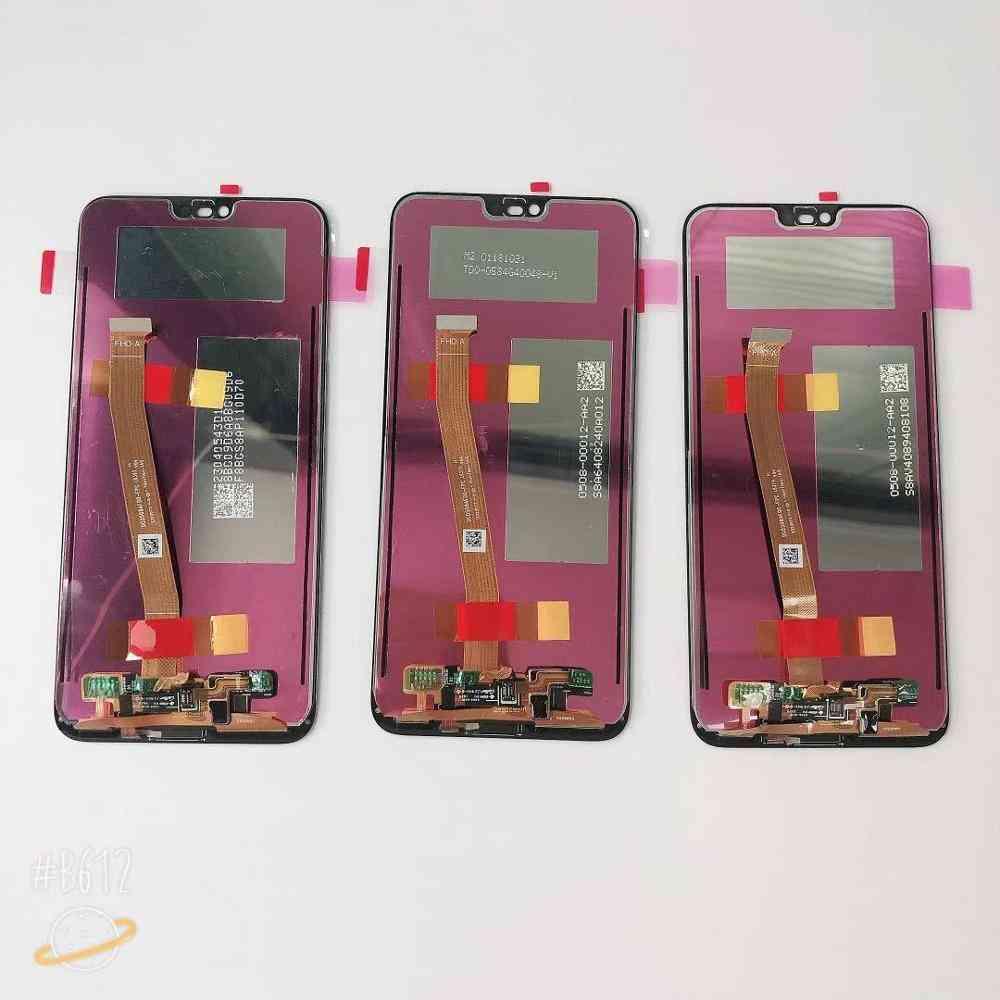 Original Lcd For Huawei Honor 10 (black W Fingerprint)