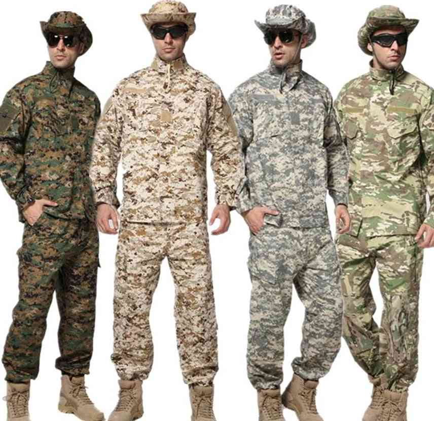 Militar Uniform Army Tactical Soldier Outdoor Combat Acu Camouflage Special Clothes Pant Maxi Xs~2xl