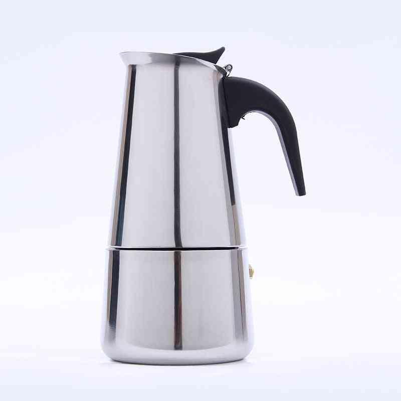 Stainless Steel Italian Top Espresso Latte Stovetop Coffee Pots
