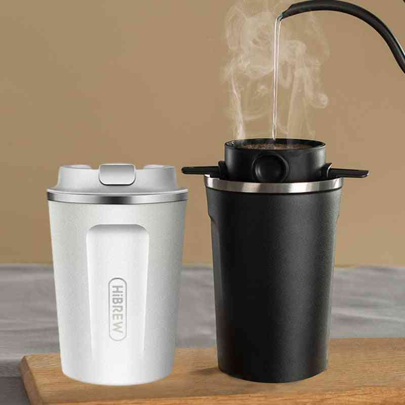Stainless Steel Double Wall Cool Touch Fingerprint-free Direct Drink Thermal Mug