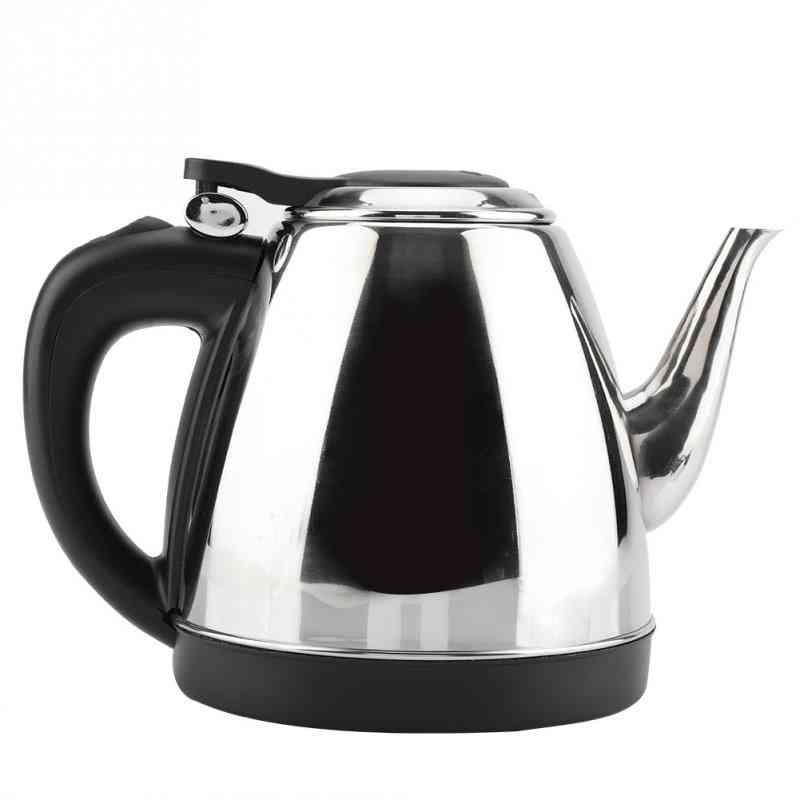 Stainless Steel, Electric Kettle - Fast Water Heating Pot For Kitchen