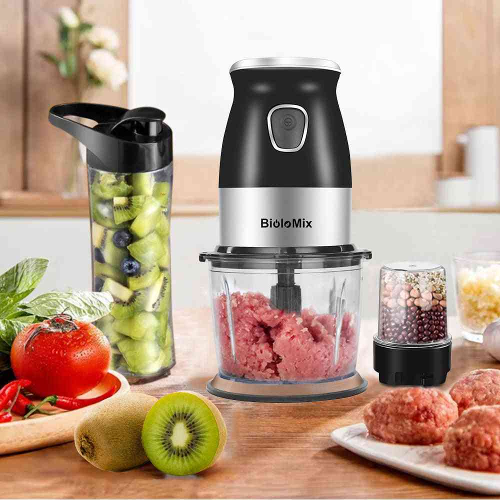 Portable Personal Blender Mixer Food Processor With Chopper