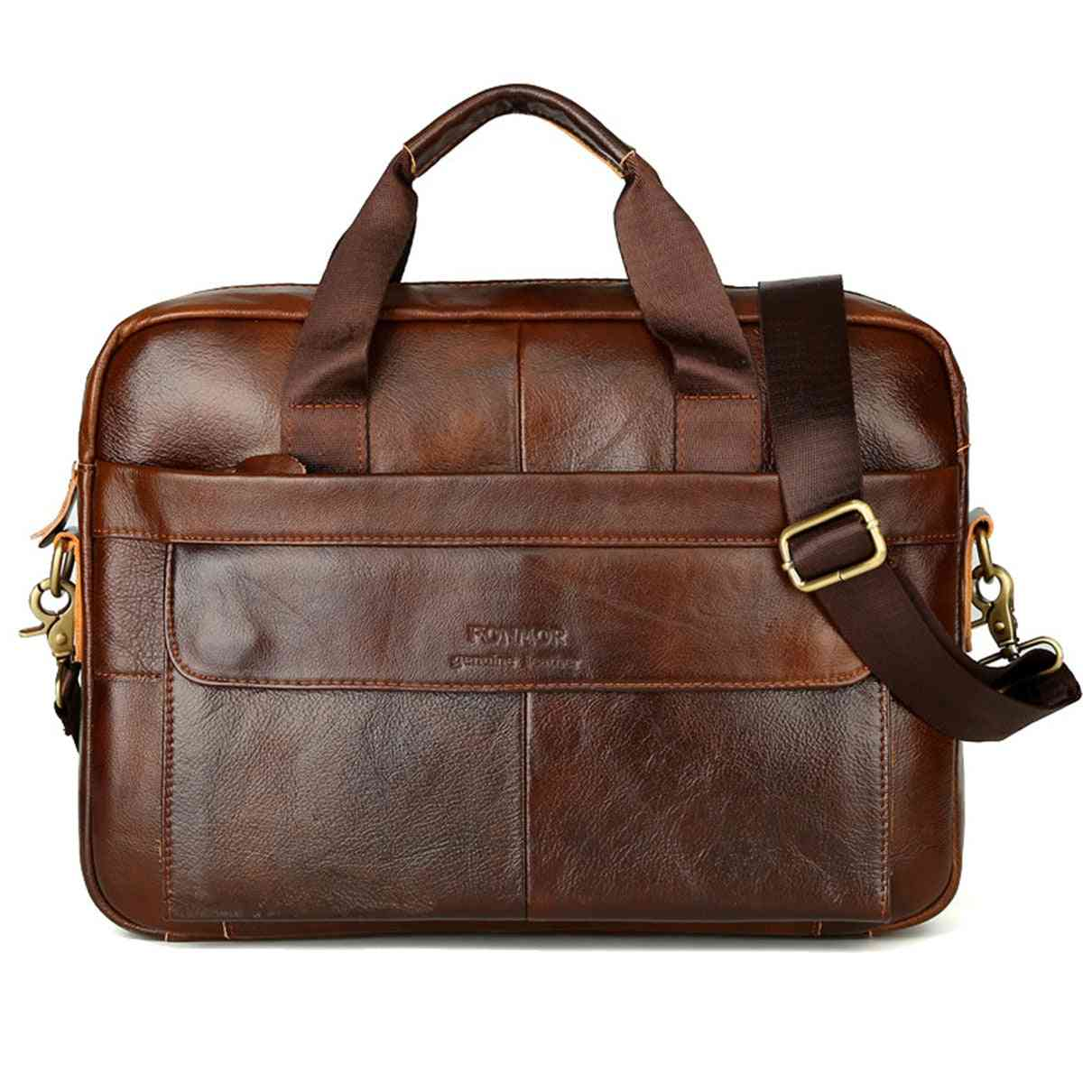 Briefcase Cowhide, Leather Handbags & Crossbody Messenger Bags's