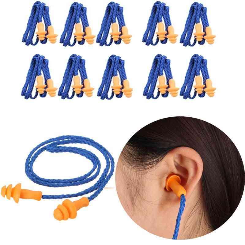 Ear Plugs Ears Protector Reusable Hearing Earmuff